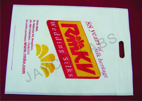 D Cut Non Woven Packing Bags