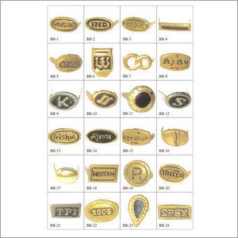 Brass Monogram