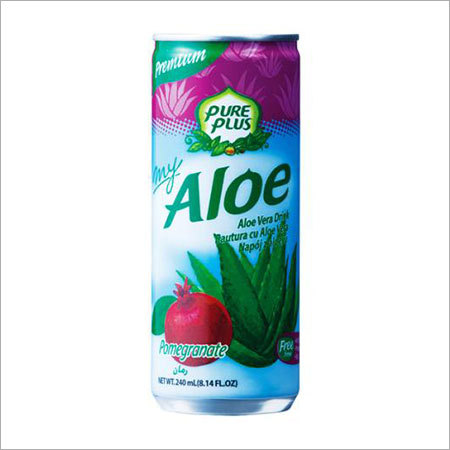 My Aloe Pomegranate 240ml can