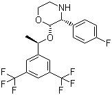 [2R-[2α(S*),3α]]-2-[1-[3,5-bis(trifluoromethyl)phenyl]ethoxy]-3-(4-fluorophenyl)- Morpholine