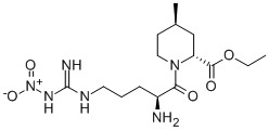 {2R-[1(S*)-2α,4ß]-1-{2-Amino-5-{[imino-(nitroamino)-methyl]-amino}-1-