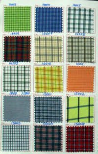 Woven Check Fabric