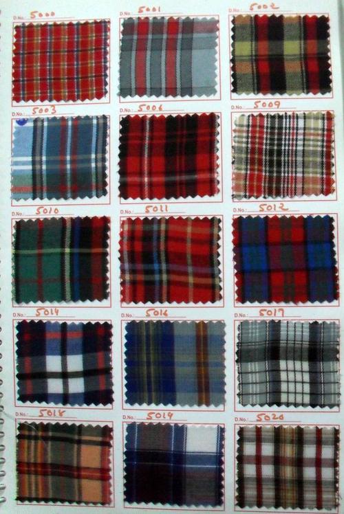 chanceller multi checks uniform fabric