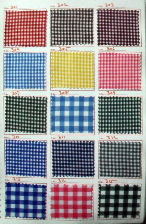 Small Checks Fabric