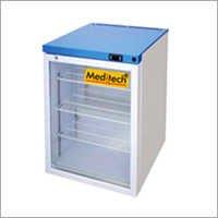 Benchtop Glass Door Lab Refrigerator