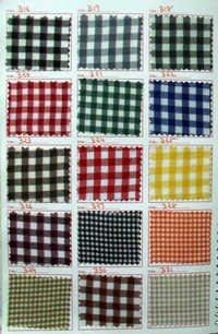 Plaid School Uniform Fabric