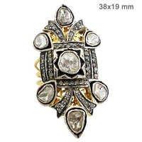 Rose Cut Diamond Vintage Ring