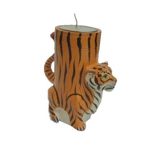 Special India Tiger Tea Light Holder