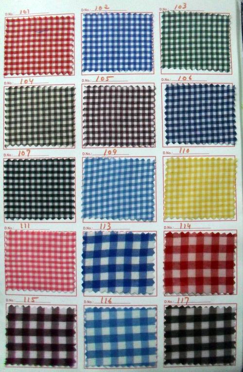 Check Fabric School Uniform