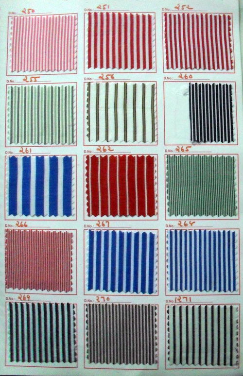 Scholar stripes uniform fabric