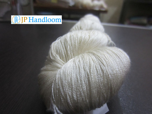 Mulberry spun silk yarn