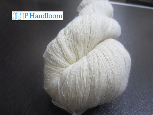 Nm 50/1 Mulberry Noil Silk Yarn.
