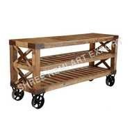 Industrial Furniture-Trolly Table