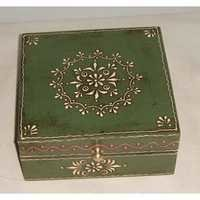 Wooden Painted Chest Box