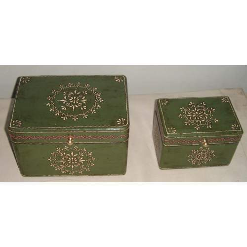 Wooden Painted Chest Boxes