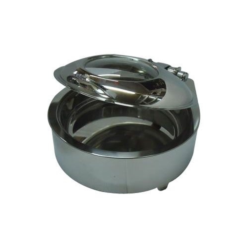 Round Glass Lid Chafer 7 LT with Electrical Element
