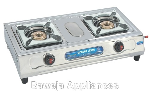 Two Burner (Silver)
