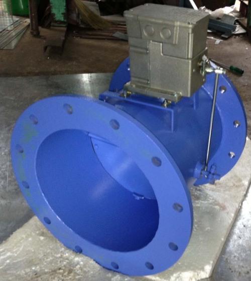 Cast Iron And Alumanium Air Damper With Modulating Actuator