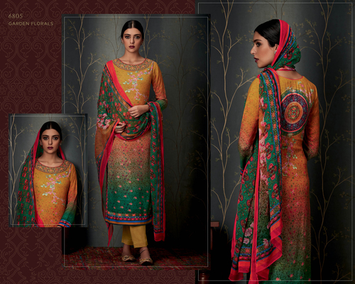 Pashmina Party wear Suit