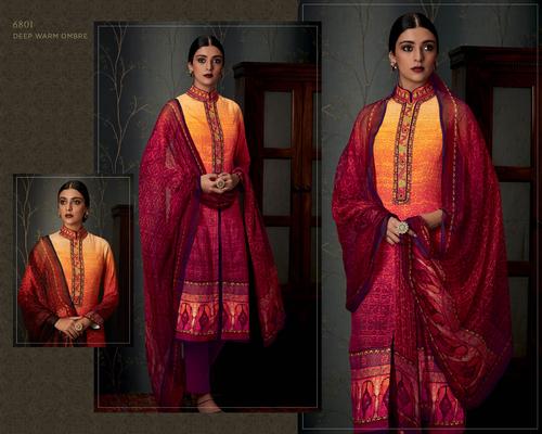 Pashmina Designer Party wear Suit