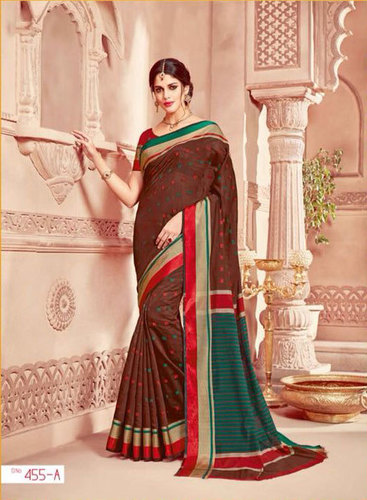 Pure cotton Printed Sarees