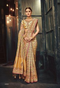 Designer Silk Embroidered Sarees