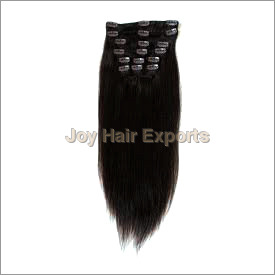 Block Clip On Hair Extension