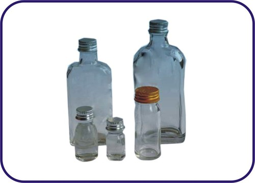 MEDIA BOTTLES COMPLETE WITH ALUMINIUM CAP AND RUBBER WASHER