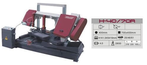 H-40 - 70R Mitre Cutting Bandsaw Machine