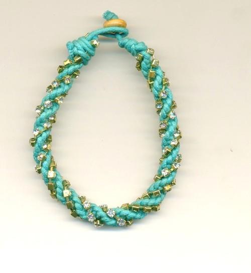 Multicolored Yarn Necklaces