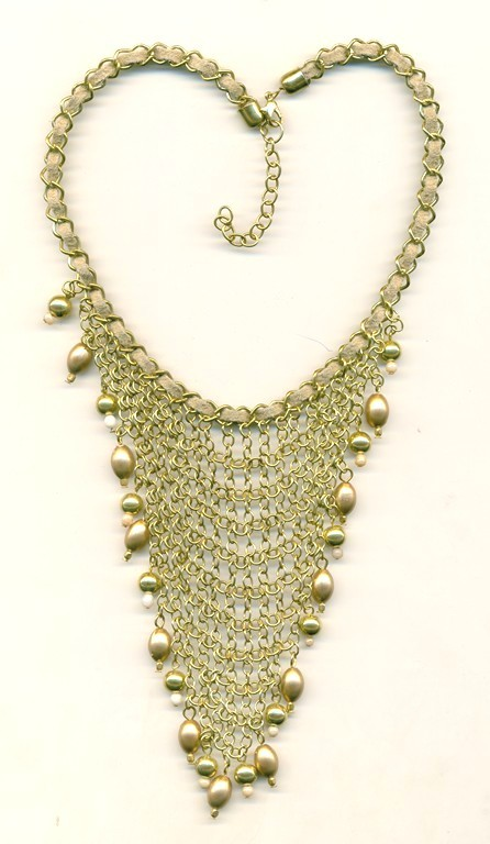 Fancy Metal Necklace