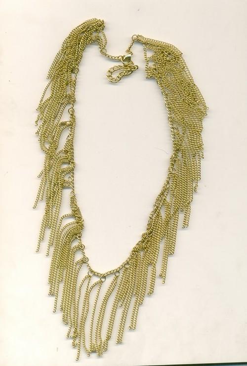 chain hanger metal Necklace