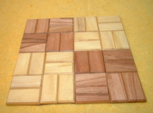 Wooden Strips Placemats