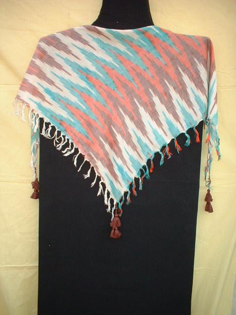 Rayon Ikat Scarves
