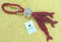 glass beaded tassel