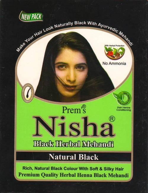 Black Henna Hair Mehandi