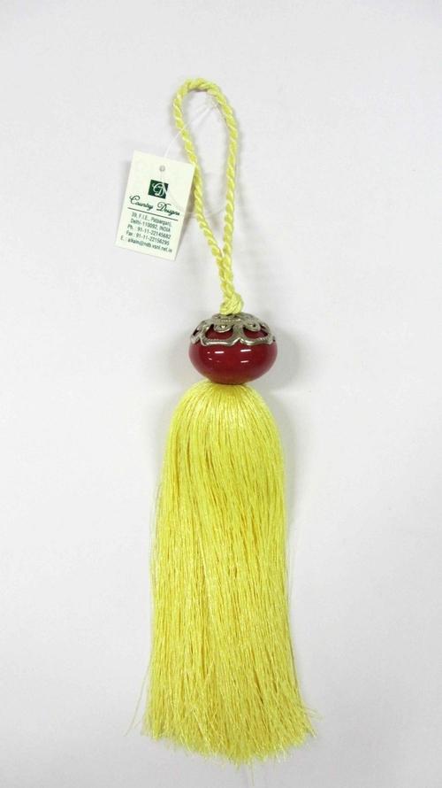 cearamic metal yarn tassel