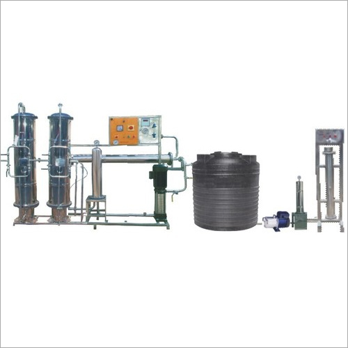 Commercial Mineral Water Plant