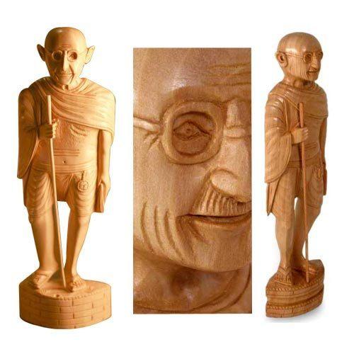 Wooden Decorative Staues