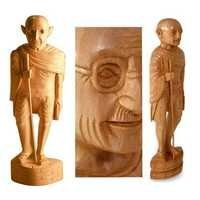 Wooden Decorative Staues