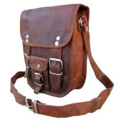 Double Buckle Portrait Curve Bag