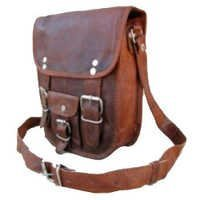 Double Buckle Portrait Curve Bag
