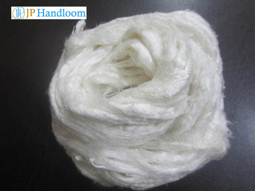 Mulberry Roving Silk (Bleached)