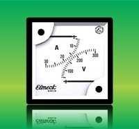 Double Range Volt Meter & Ammeters Meter