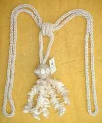 mop glass beads jute combo  tie back