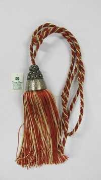 metal yarn combo  tie back