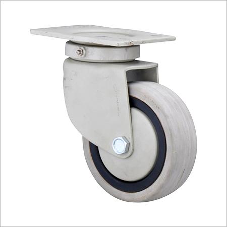 Gray Rubber Caster Wheels