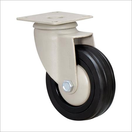 Castors Black Rubber Wheel