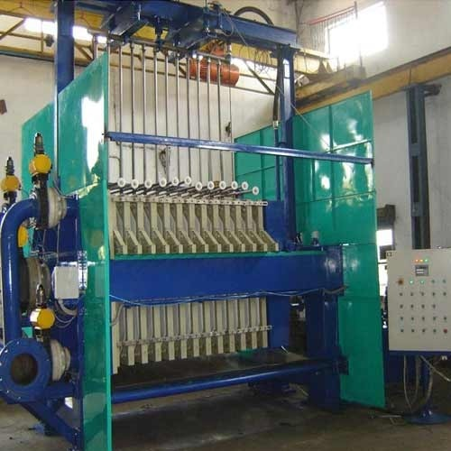 Fully Automatic Filter Press With Cloth Washing