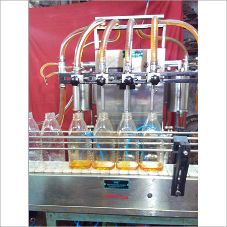 Four Head Oil Filling Machine